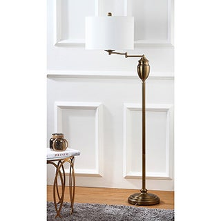 Safavieh Lighting 60-inch Antonia Gold Floor Lamp