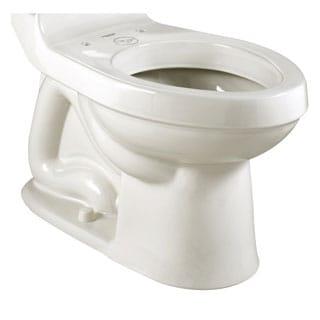 American Standard H2optimum Elongated White Porcelain