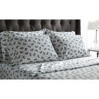 500 Thread Count Cotton-rich 'Royal Suites' Paisley 6-piece Sheet Set