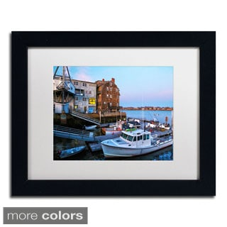 CATeyes 'Marblehead' Framed Matted Art