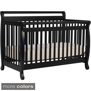 Lily 4-in-1 Convertible Crib with Toddler Rail