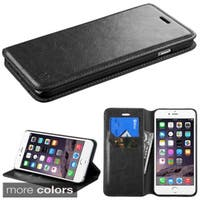 INSTEN Leather Wallet Flap Pouch with Tray For Apple iPhone 6 Plus