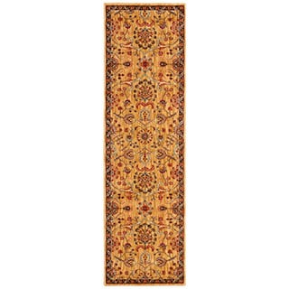 kathy ireland Ancient Times Persian Treasure Gold Area Rug by Nourison (2'2 x 7'6)