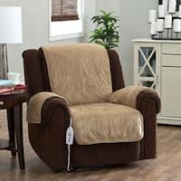 Shop Sure Fit Reversible Flannel Sherpa Chair Pet Cover