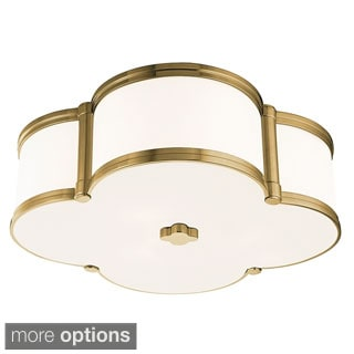 Hudson Valley Chandler 3-light Flush Mount