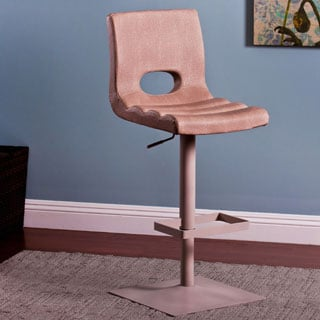Adjustable Barstool with Foot Rest