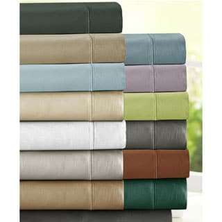 Luxury Sateen Cotton Blend 1000 Thread Count Deep Pocket Sheet Set