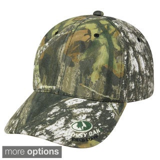 Outdoor Cap Company Mossy Oak Insignia Hook and Loop Hat