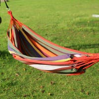 Adeco Naval Style Two-Person Hammock, Antigua Color