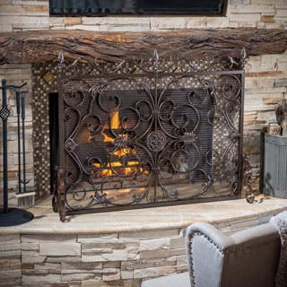 Christopher Knight Home Wilmington Fireplace Screen|https://ak1.ostkcdn.com/images/products/P16758440a.jpg?impolicy=medium
