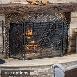 Christopher Knight Home Kingsport Fireplace Screen - N/A