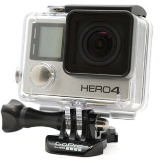 GoPro HERO4 Action Camera with 12MP Camera and Built-in Wi-Fi (Black or Silver Edition)
