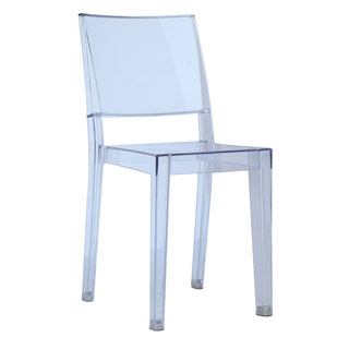 Clear Square Dining Chair