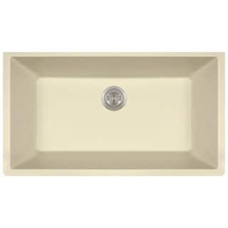 MR Direct 848 TruGranite Single Bowl Kitchen Sink