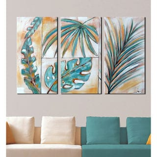 Go Ahead, Leave 3-piece Canvas Painting