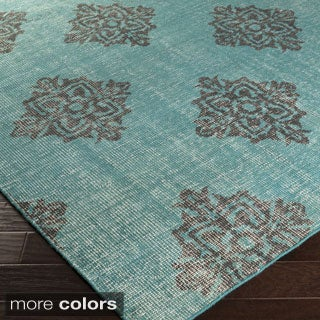 Hand-knotted Crediton Contemporary Wool Rug (2' x 3')