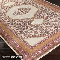 Hand-knotted Amesbury Traditional Wool Area Rug (2' x 3')
