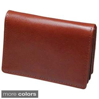 Castello Italian Leather Mid-Flap Cardholder