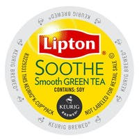 Lipton Soothe Green Tea, K-Cup Portion Pack for Keurig Brewers
