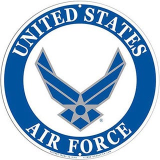 US Air Force Logo Aluminum Sign
