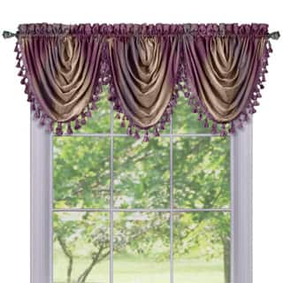 Achim Ombre Window Multicolored Curtain Waterfall Valance|https://ak1.ostkcdn.com/images/products/P16796605p.jpg?impolicy=medium