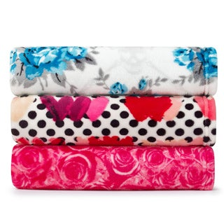 Betsey Johnson Ultra Plush Throw