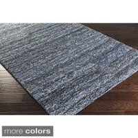 Hand-Hooked Valerie Cotton & Wool Abstract Area Rug (5'6 x 8'6)