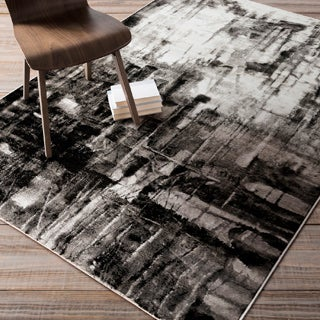 Carbon Loft Moreno Abstract Rug (5'2 x 7'6)