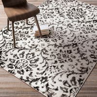 Artfully Crafted Sally Damask Area Rug (5'2 x 7'6)