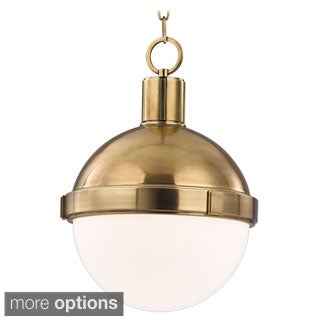 Hudson Valley Lambert 1 Light 12.5 inch Pendant - 12.5""