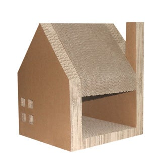 Corrugated Cardboard Cat House