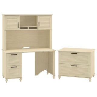 Bush Furniture Kathy Ireland Office Volcano Dusk Small Office Suite