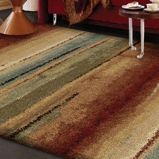 Carolina Weavers Grand Comfort Collection Field of Vision Multi Area Rug (3'11 x 5'5)