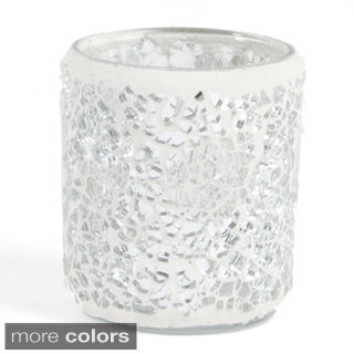 Mosaic Design Votive Holders (Set of 2)