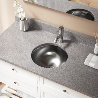 MR Direct 420 Stainless Steel Bathroom Sink