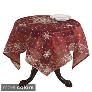 Handmade Beaded Table Linens