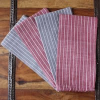Handmade Valiant Napkins (India)