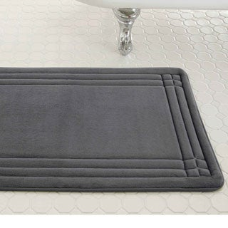Good Amraupur Overseas Embossed Memory Foam Geoplex Bath Mat