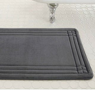 bathroom rugs and mats. Amrapur Overseas Embossed Memory Foam Geoplex Bath Mat Rugs  Mats For Less Overstock com
