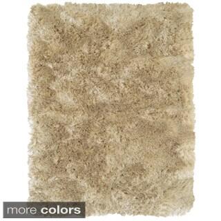 Grand Bazaar Tufted Polyester Pile Freya Area Rug in Cream (2'6 x 6')