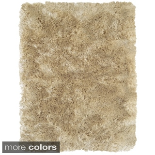 "Grand Bazaar Tufted Polyester Pile Freya Rug in Cream 4'-9"" X 7'-6"""