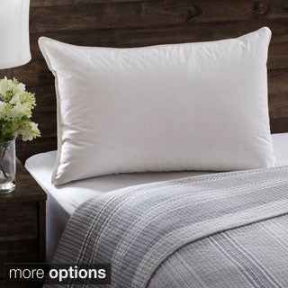 European Heritage Down Allure Hypoallergenic Medium Firmness White Down Pillow (3 options available)