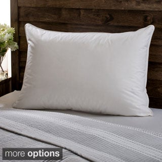European Heritage Down Opulence Hypoallergenic Medium Firmness White Goose Down Pillow