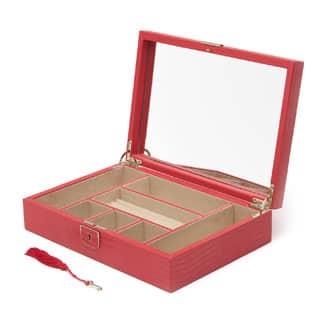 WOLF Palermo Medium Flat Jewelry Box|https://ak1.ostkcdn.com/images/products/P16841306a.jpg?impolicy=medium