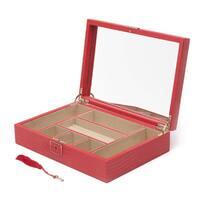 WOLF Palermo Medium Flat Jewelry Box