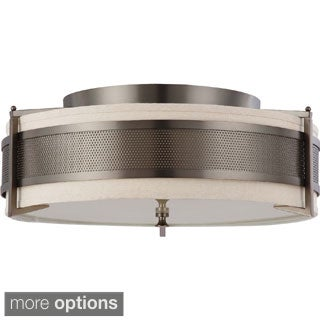 Nuvo Diesel 4-Light Large Flush Mount