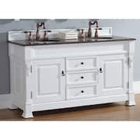"Brookfield 60"" Double Cabinet, Cottage White"
