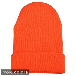 Zodaca Unisex Soft Winter Knit Beanie Hat|https://ak1.ostkcdn.com/images/products/P16843350L.jpg?impolicy=medium