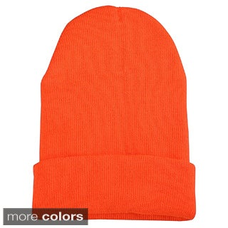 Zodaca Unisex Soft Winter Knit Beanie Hat (3 options available)