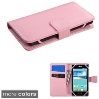 INSTEN Universal Leather Wallet Phone Case Cover With Magnetic Flip For Alcatel Samsung ZTE Nokia Motorola LG HTC Kyocera|https://ak1.ostkcdn.com/images/products/P16843462a.jpg?impolicy=medium